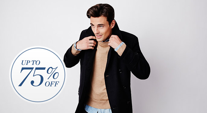 Outerwear: Up to 75% Off at Gilt