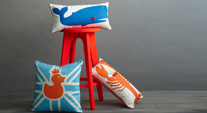 Pillows That Pop at Gilt