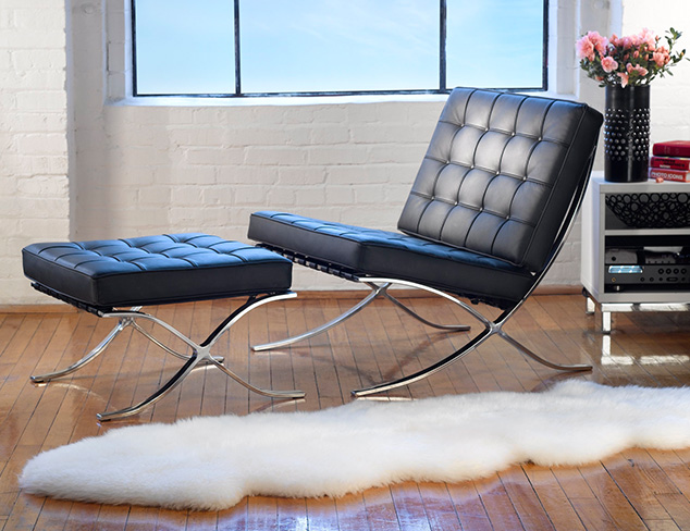 Plush Style: Fur Rugs, Pillows & More at MYHABIT