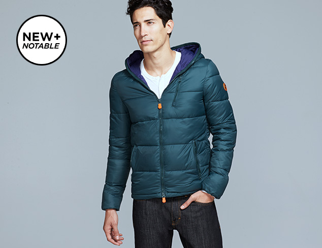 Save the Duck Outerwear at MYHABIT