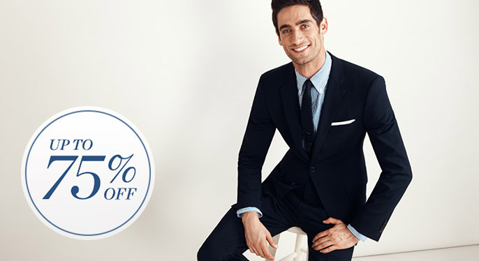 Suiting: Up to 75% Off at Gilt