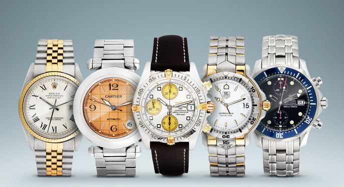 Vintage Breitling, Omega & More at Gilt