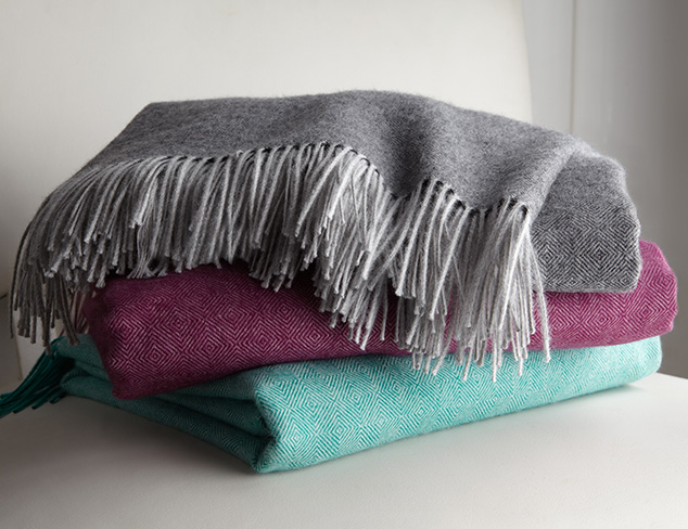 Warm & Bright Throws feat. Alicia Adams at MYHABIT