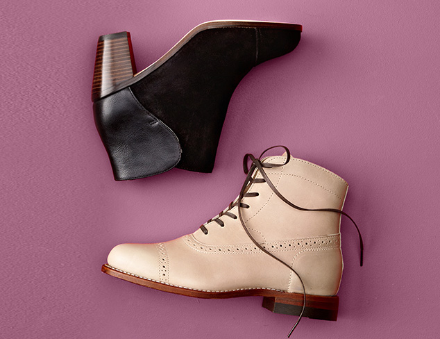 Wear with Denim: Ankle Booties at MYHABIT