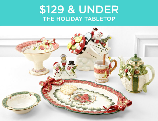 $129 & Under: The Holiday Tabletop at MYHABIT