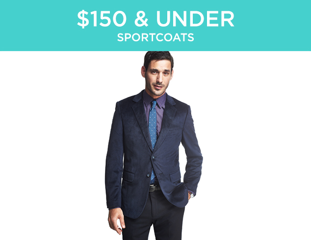 $150 & Under: Sportcoats at MYHABIT