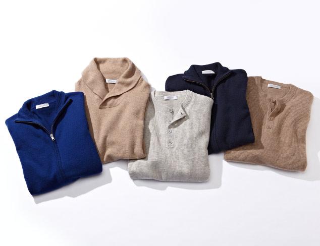 $166 & Under: Christopher Fischer Cashmere Sweaters at MYHABIT