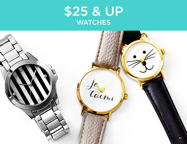 $25 & Up: Watches at MYHABIT