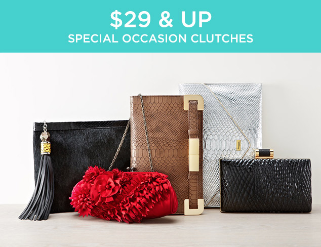 $29 & Up: Special Occasion Clutches at MYHABIT