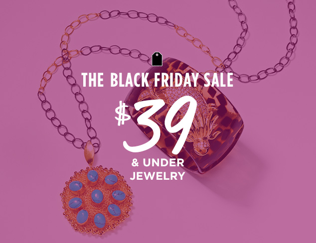 $39 & Under Jewelry at MYHABIT