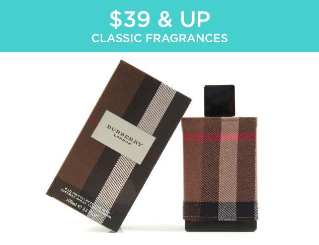 $39 & Up: Classic Fragrances at MYHABIT