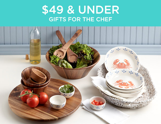 $49 & Under: Gifts for the Chef at MYHABIT