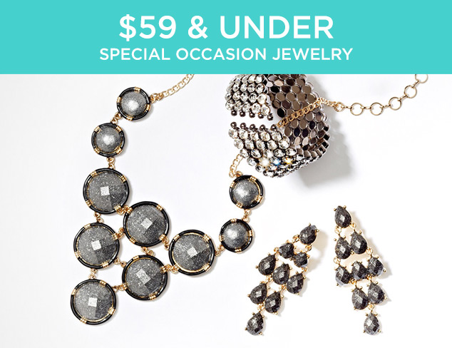 $59 & Under: Special Occasion Jewelry at MYHABIT