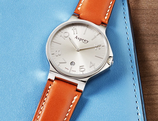 Asprey of London Stainless Steel Watch