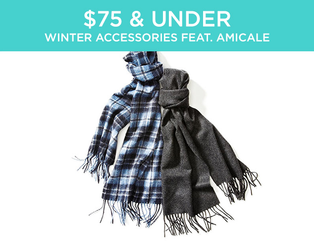 $75 & Under: Winter Accessories feat. Amicale at MYHABIT