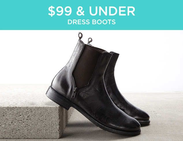 $99 & Under: Dress Boots at MYHABIT