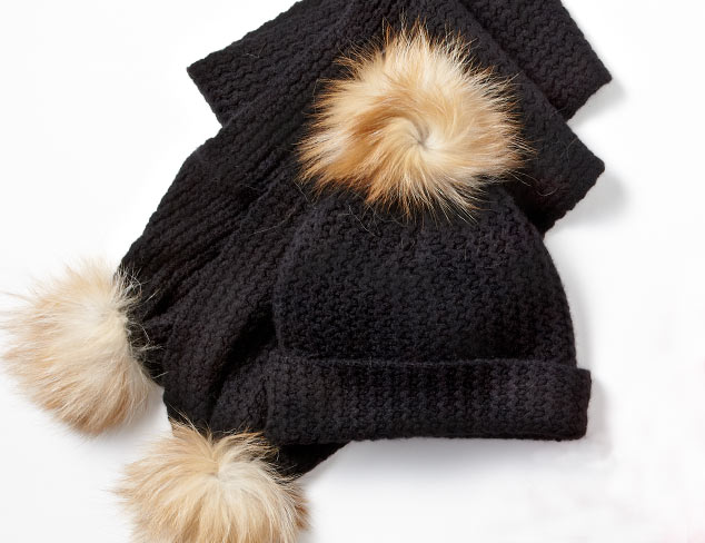 All About the Pom: Winter Accessories at MYHABIT