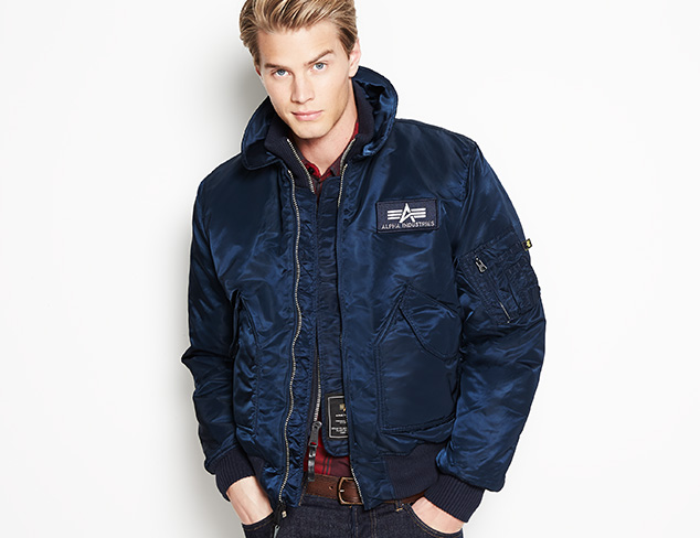 Alpha Industries Outerwear at MYHABIT