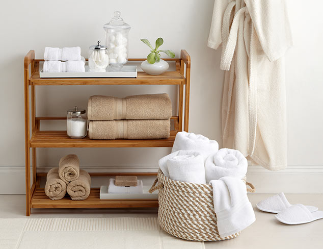 Bathroom Refresh: Rugs, Robes & More at MYHABIT