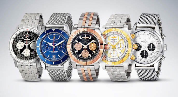 Breitling Watches at Gilt