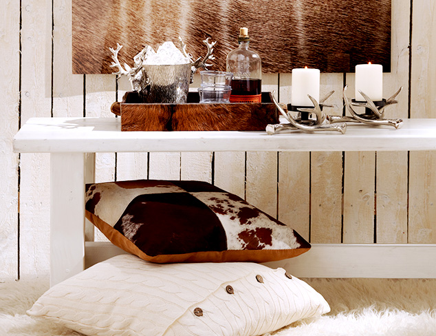 Cabin Fever: Accents & Décor at MYHABIT