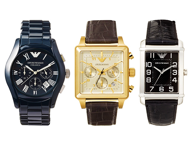 Classic Watches feat. Emporio Armani at MYHABIT