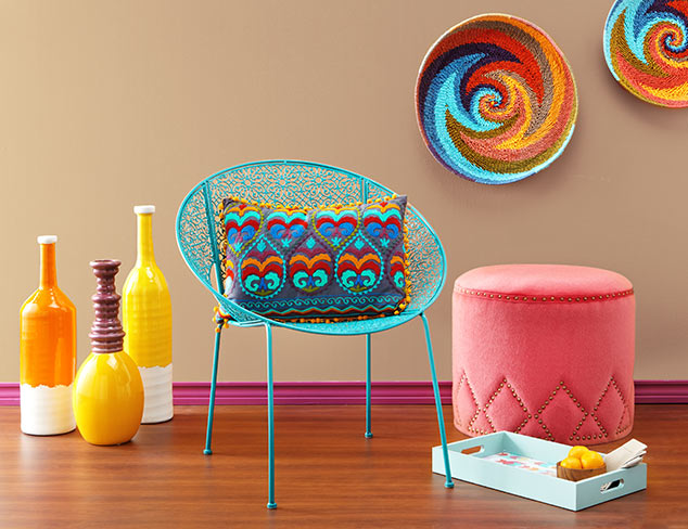 Color Crush: Vibrant Home Décor at MYHABIT