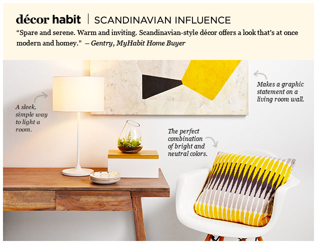 Décor Habit: Scandinavian Influence at MYHABIT