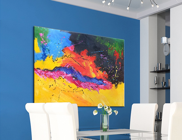Deck Your Walls: Colorful Artwork at MYHABIT