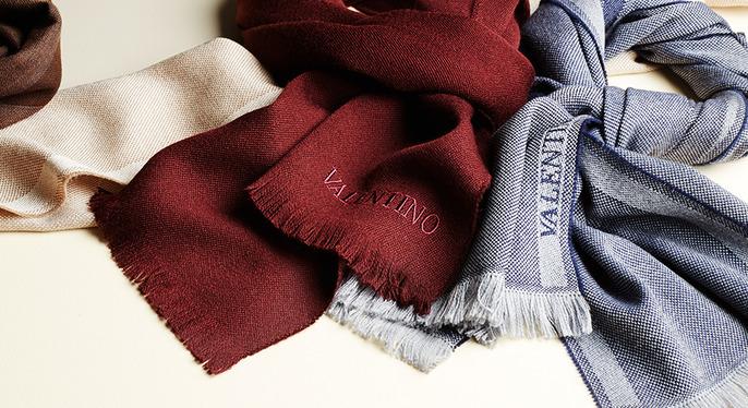 Designer Scarves Feat. Valentino at Gilt