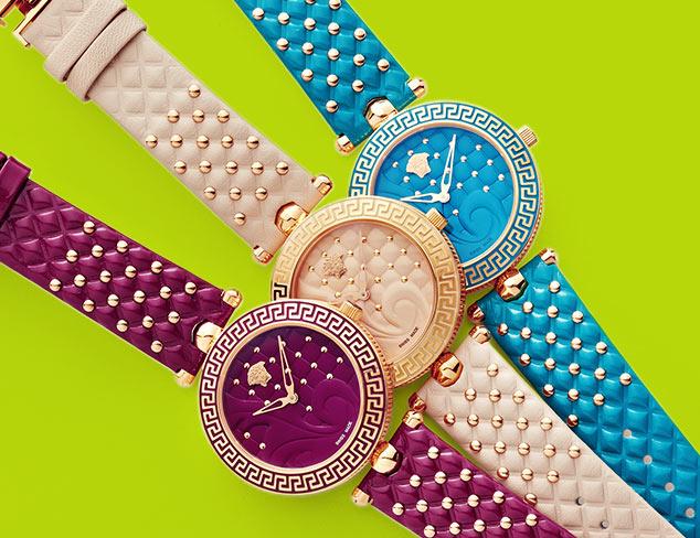 Designer Watches feat. Versace at MYHABIT