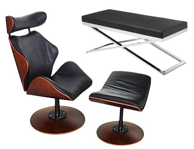 Dramatic in Black: Furniture at MYHABIT