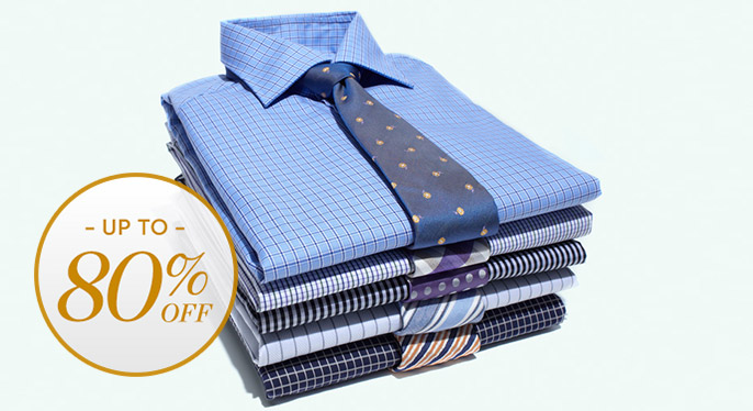Dress Shirts & Ties: Up to 80% Off at Gilt