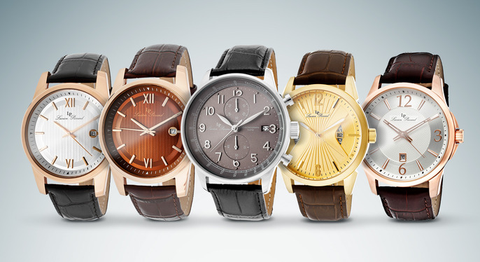 Dress Watches Feat. Lucien Piccard at Gilt