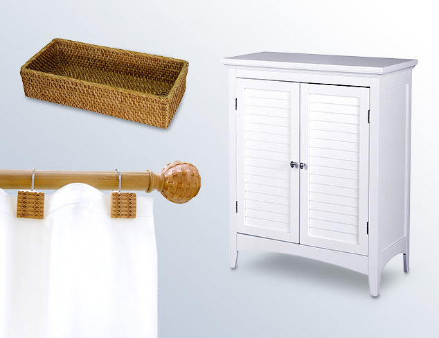 Elegant Home Bath Storage & Accessories at MYHABIT