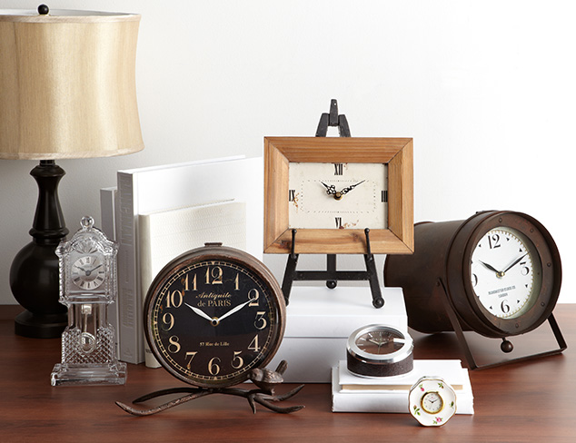 Fall Back: Stylish Clocks at MYHABIT