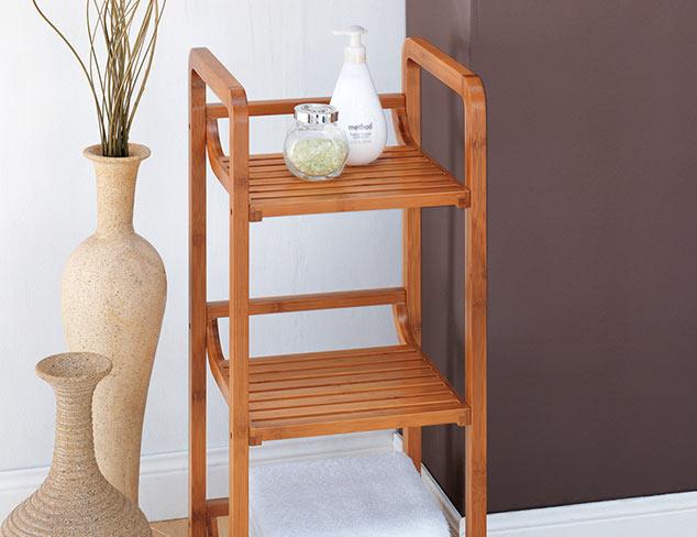Get Organized: Bath Towels & Storage at MYHABIT
