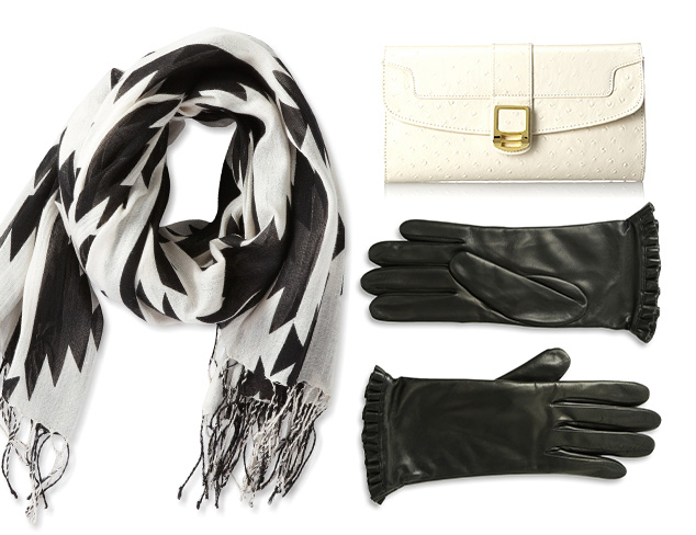 Graphic Accessories: Black & White at MYHABIT