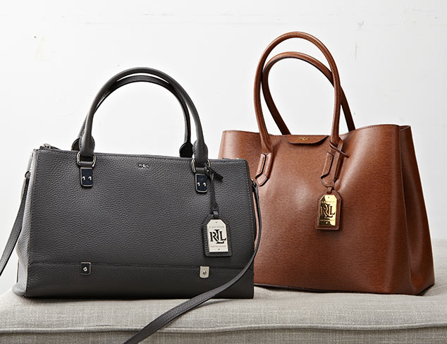 Handbags feat. LAUREN Ralph Lauren at MYHABIT