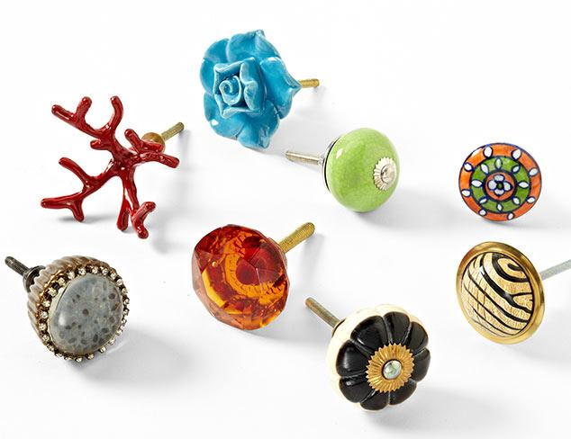 Plum Knobs & Decorative Hardware at MYHABIT