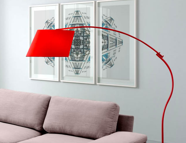 Pops of Red: Lighting at MYHABIT