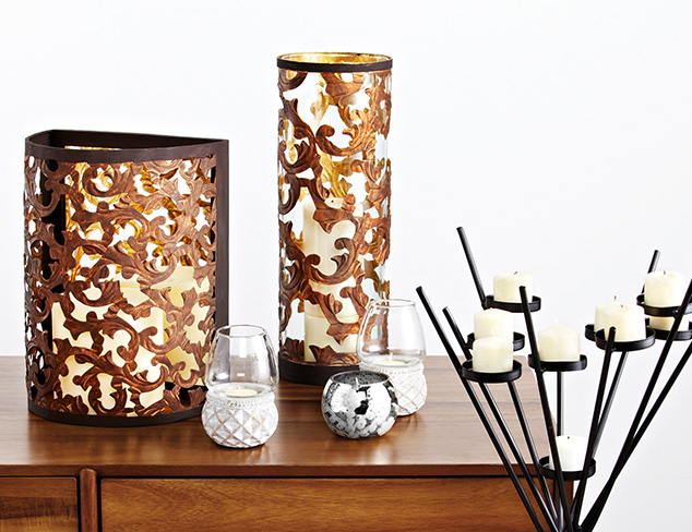 Romantic to Rustic: Candleholders at MYHABIT