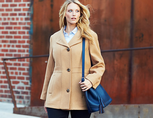 Seasonal Staple: Wool Coats at MYHABIT