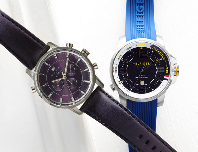 Sport Watches feat. Tommy Hilfiger at MYHABIT