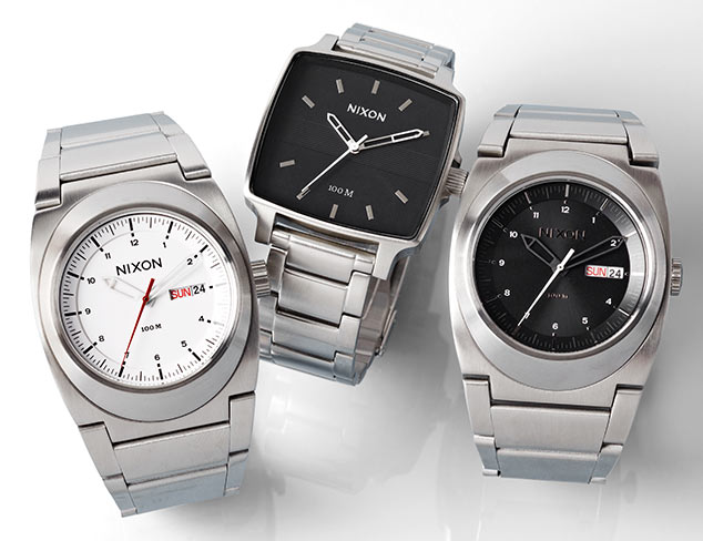 Stainless Steel Watches at MYHABIT