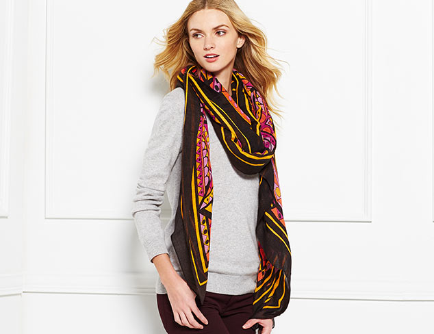 Statement Scarves: Theodora & Callum & More at MYHABIT