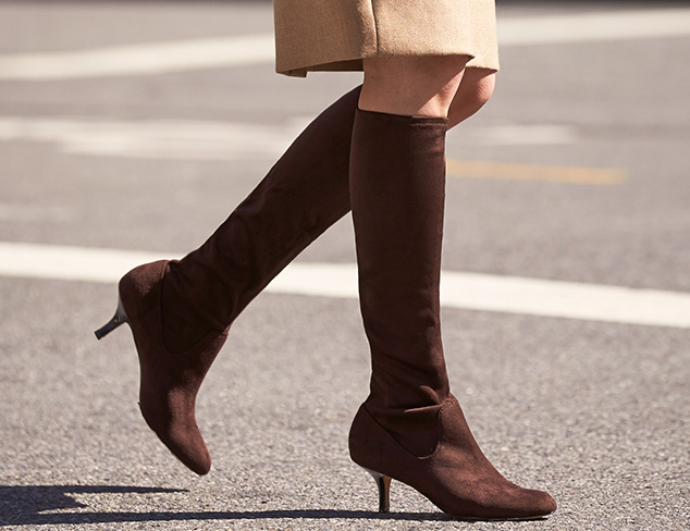 Style with Stretch: Elastic Panel Boots at MYHABIT