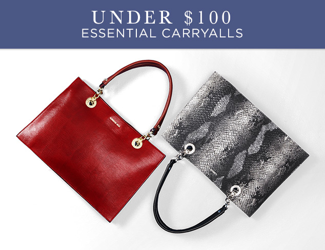 Under $100: Essential Carryalls at MYHABIT