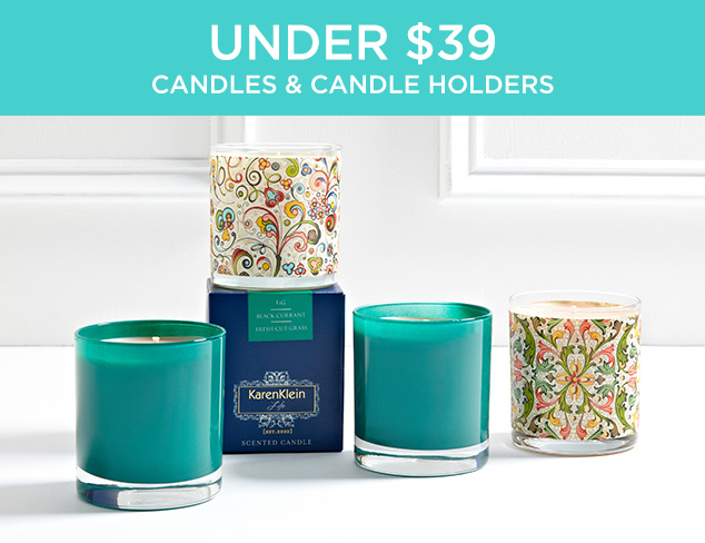 Under $39: Candles & Candle Holders at MYHABIT