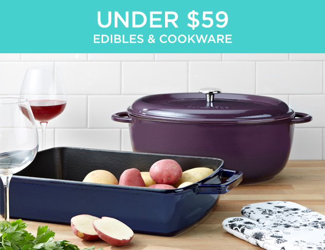 Under $59: Edibles & Cookware at MYHABIT